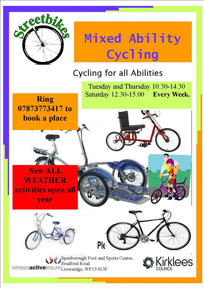 mixed ability cycling